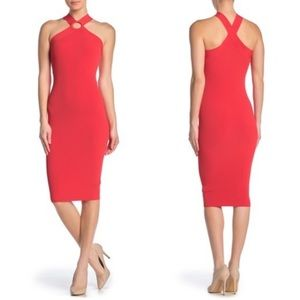 Ted Baker London Sionna Ribbed Body-Con Dress